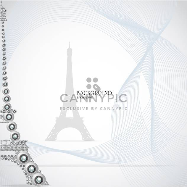 eiffel tower made of webcams - vector gratuit #133083