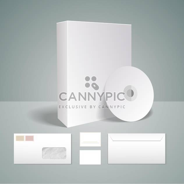 selected corporate templates set - Free vector #133233