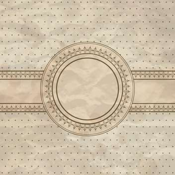 vintage abstract creative background - Kostenloses vector #133723