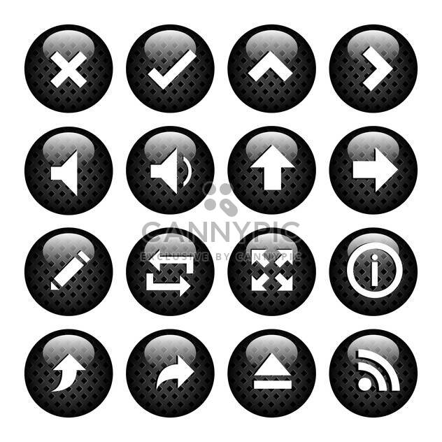 Computer-Media-Icons set - Kostenloses vector #133813