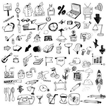set of web chat icons - vector #133853 gratis