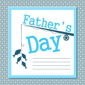 father's day card background - vector #134003 gratis