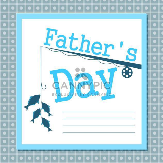 father's day card background - Free vector #134003