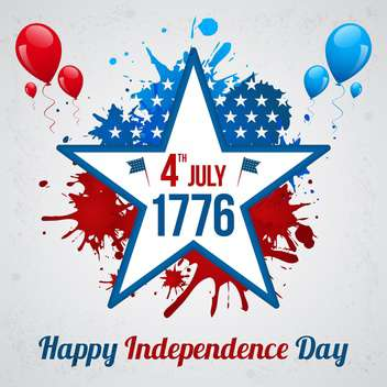 american independence day background - vector gratuit #134043