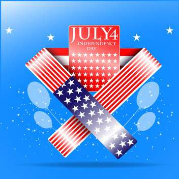 usa independence day illustration - vector #134143 gratis
