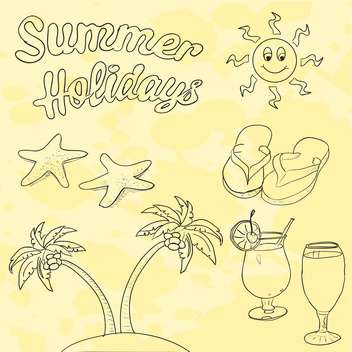 summer holidays vacation picture - vector gratuit #134323