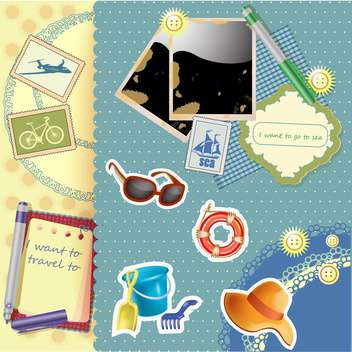 travel vacation holiday background - vector #134403 gratis