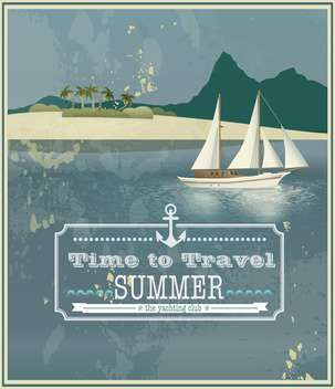 time to travel vintage background - vector gratuit #134553