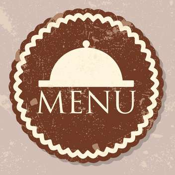 restaurant menu design background - vector gratuit #134703