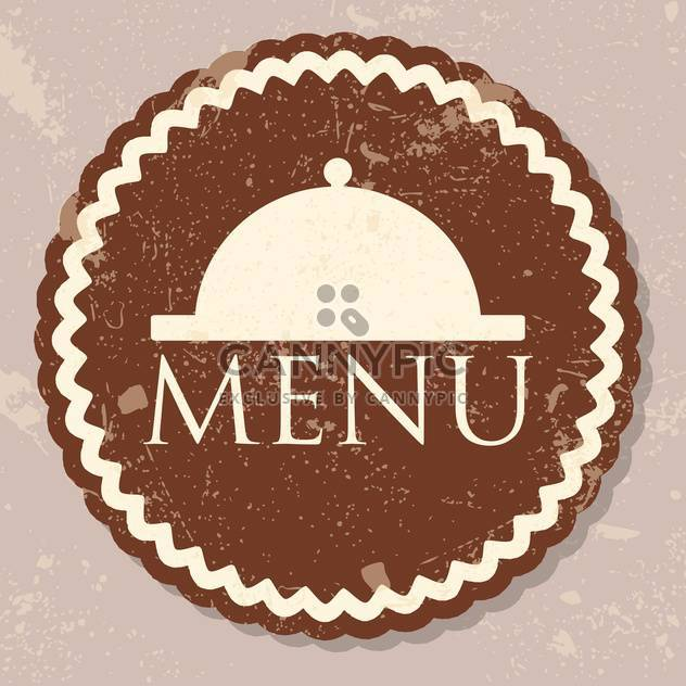 restaurant menu design background - Free vector #134703