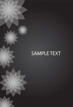 vector abstract floral background - vector gratuit #134813