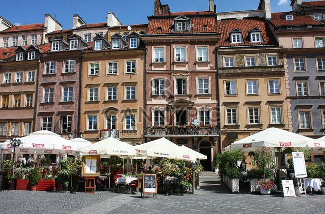 Houses in Warsaw - Free image #136623