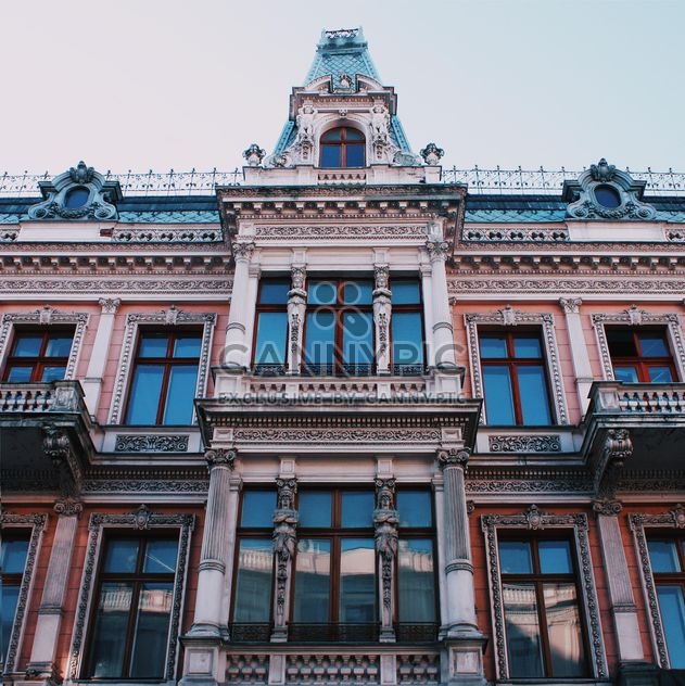 Facade of the house in Lodz city - Free image #136653