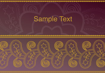Background Old Vintage Frame Ornament - vector gratuit #138823