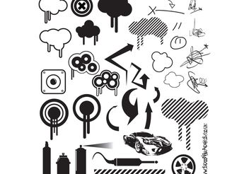 Free Vector Resources Part 3 - Urban Collection - Free vector #139153