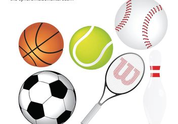 Sports Vector Pack - vector #139323 gratis