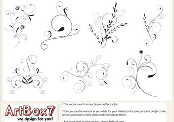 Foliages by Artbox7.com - vector gratuit #139353