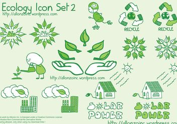 Ecology Icon Set 2 - vector #139373 gratis