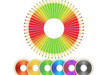 Free vector Crazy pencils - vector gratuit #139443