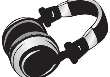 Headphone - vector #139573 gratis