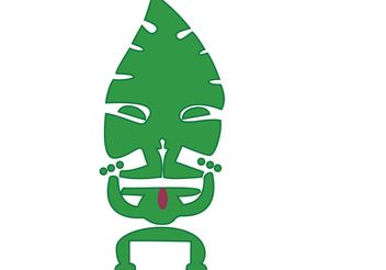 Tiki Guy - Free vector #139683