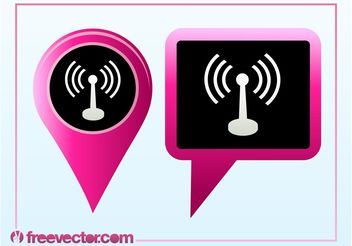 Wifi Pointers - vector #140083 gratis