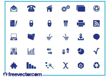 Icon Pack Vector Graphics - vector gratuit #140123