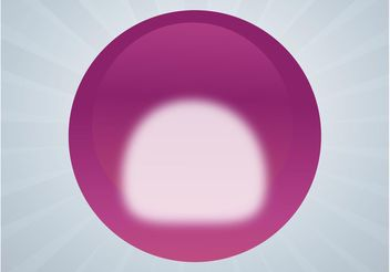 Glossy Ball - vector #140653 gratis