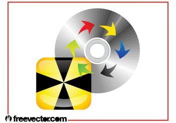 CD Layout - vector gratuit #140713