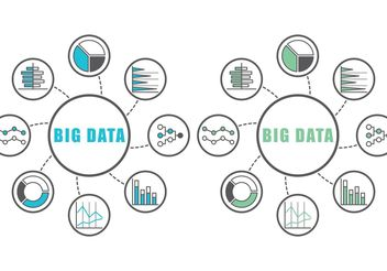 Big Data Infographics - vector #140863 gratis