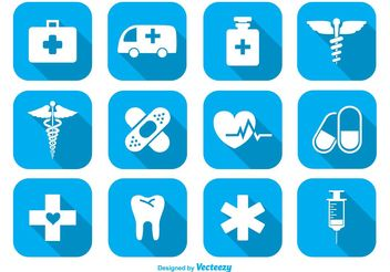 Medical Icon Set - vector gratuit #141183