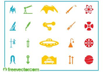 Icon Graphics Set - Free vector #141213