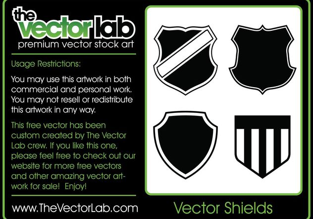 Vector Shields - Free vector #141433