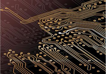 Circuit Board - vector #141803 gratis