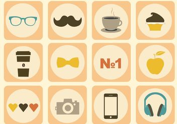 Free Vector Icon Set - Free vector #142033