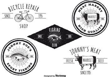 vintage logo free vector download 142821 cannypic