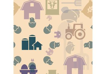 Farm Vector Icons - vector gratuit #142513