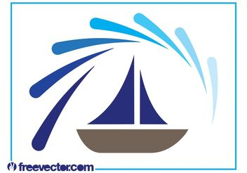 Boat Logo Graphics - Free vector #142653