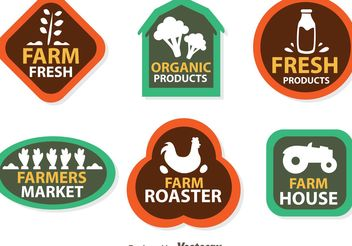 Vector Farmers Logo Icons - бесплатный vector #142843