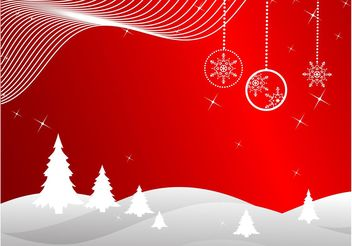 Christmas Background Vector - vector gratuit #143303