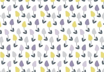 Pretty Floral Vector Pattern - Kostenloses vector #143503