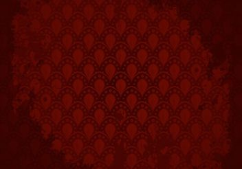 Maroon Background Pattern Vector - vector gratuit #143563