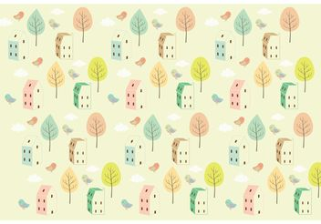 Seamless Background Pattern - vector gratuit #143673