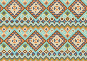 Native Abstract Pattern Background Vector - Free vector #143683