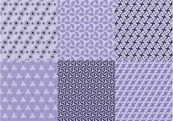 Vector Seamless Patterns - Free vector #143733