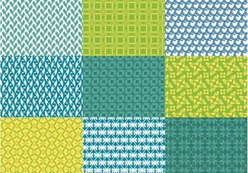 Abstract Vector Patterns - vector gratuit #143743