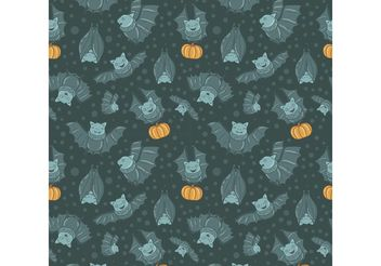 Free Flying Fox Vector Seamless Pattern - Free vector #143753