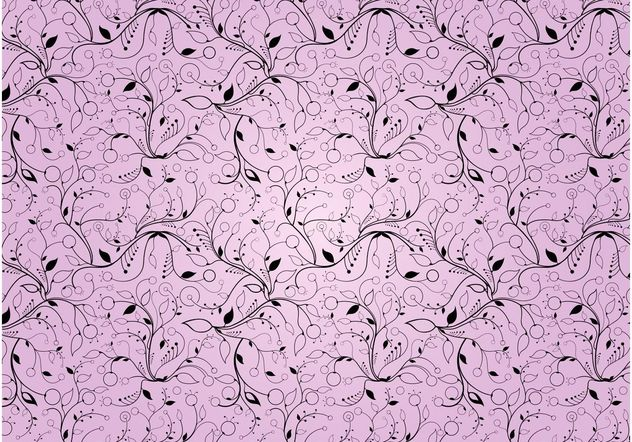 Plants Pattern - Free vector #143993