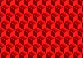 3D Cubes Pattern - Free vector #144023