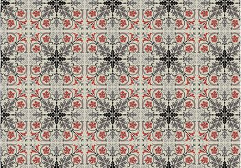 Vector Floor Pattern - vector gratuit #144053